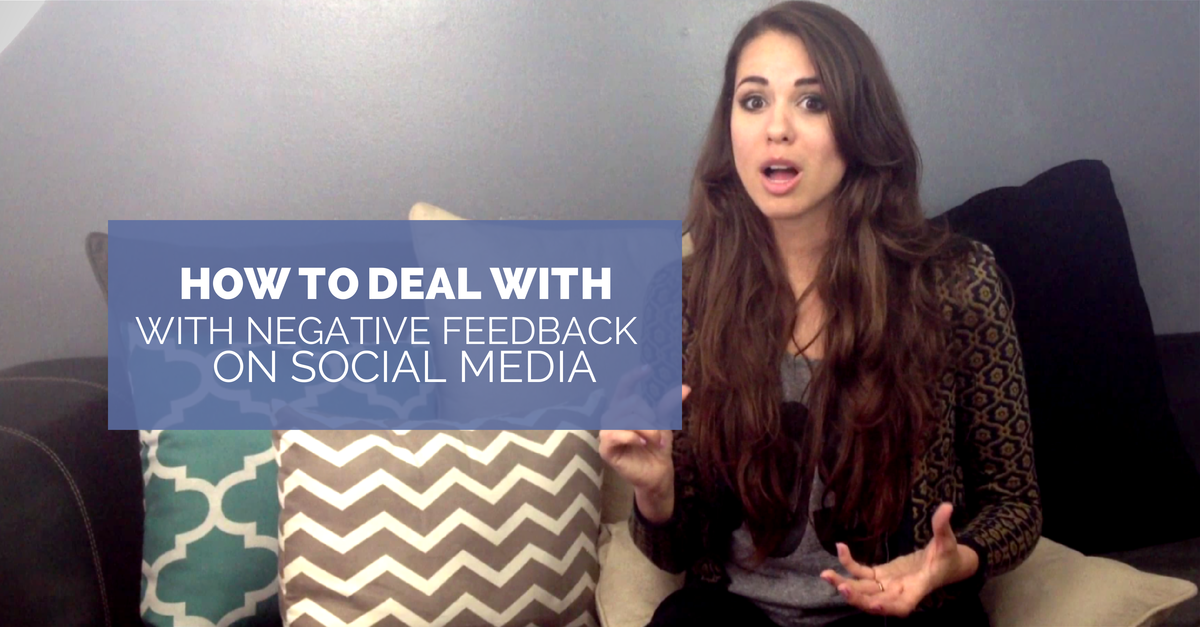 How To Deal With Negative Comments On Social Media (The Right Way!)