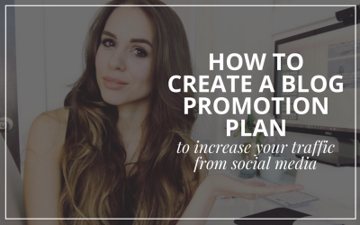 Blog: How To Create A Social Promotion Plan For Your Blog