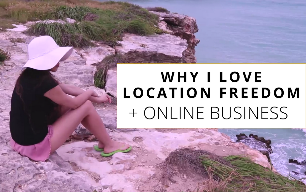 VLOG: Why I Love Location Freedom + Online Business